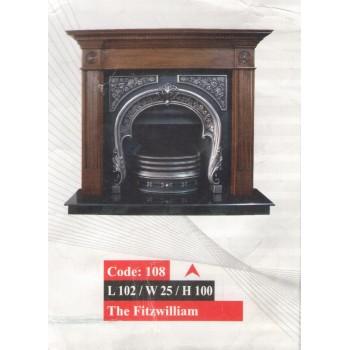 Чугунный газовый камин 108 The Fitzwilliam