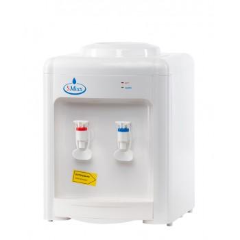 Кулер для воды SMixx 36 ТВ белый с голубым без охлаждения (только нагрев).