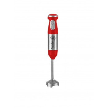Блендер ручной VAIL VL-5732 (красный) DC мотор, 1000 Вт, Soft touch