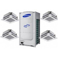 Кассетная мульти сплит система  Samsung ND0454HXEA/PC4NUSKEDVM/Plus 4 RD120HHXGB