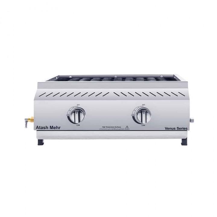 Гриль для барбекю газовый нержавеющая сталь 100-60 cm-atashmehr 01