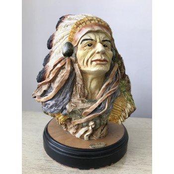 Статуэтка виде Индейца (gold)